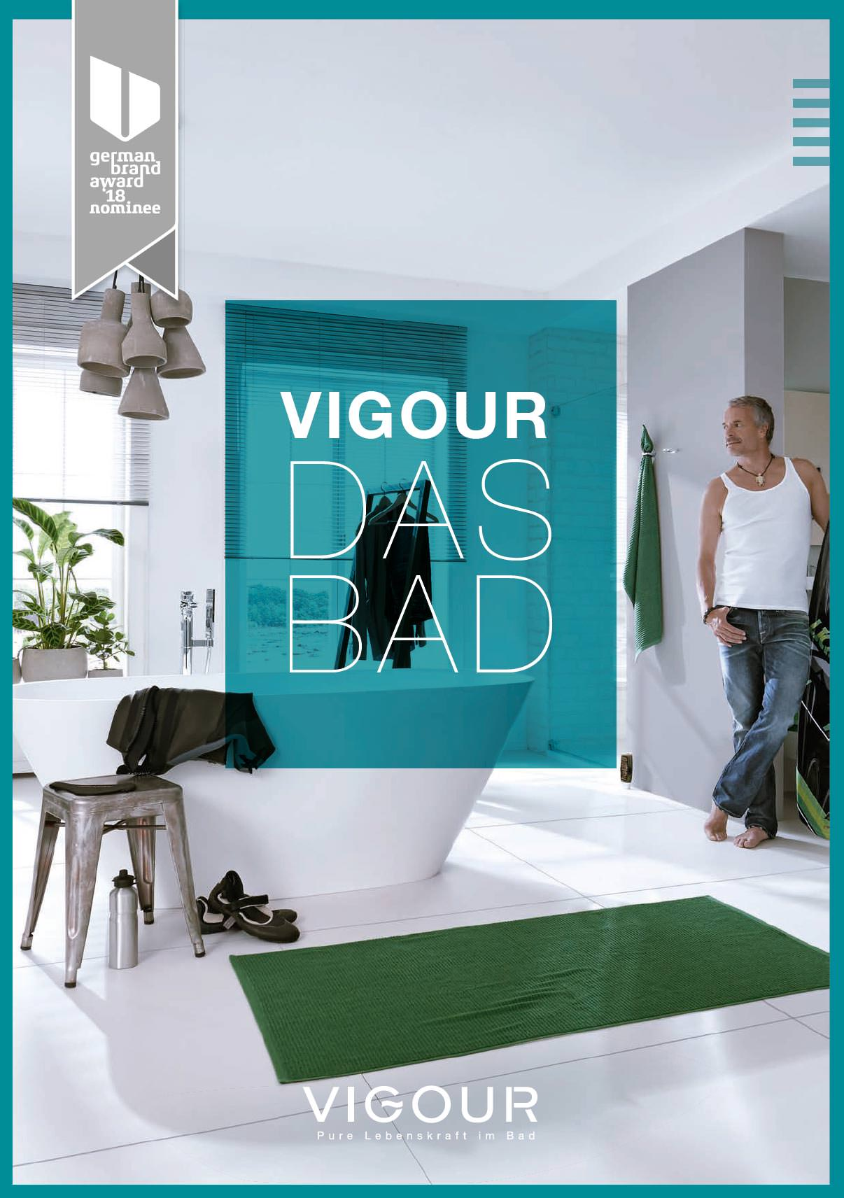 336 Seiten Badezimmer im neuen Vigour-Katalog