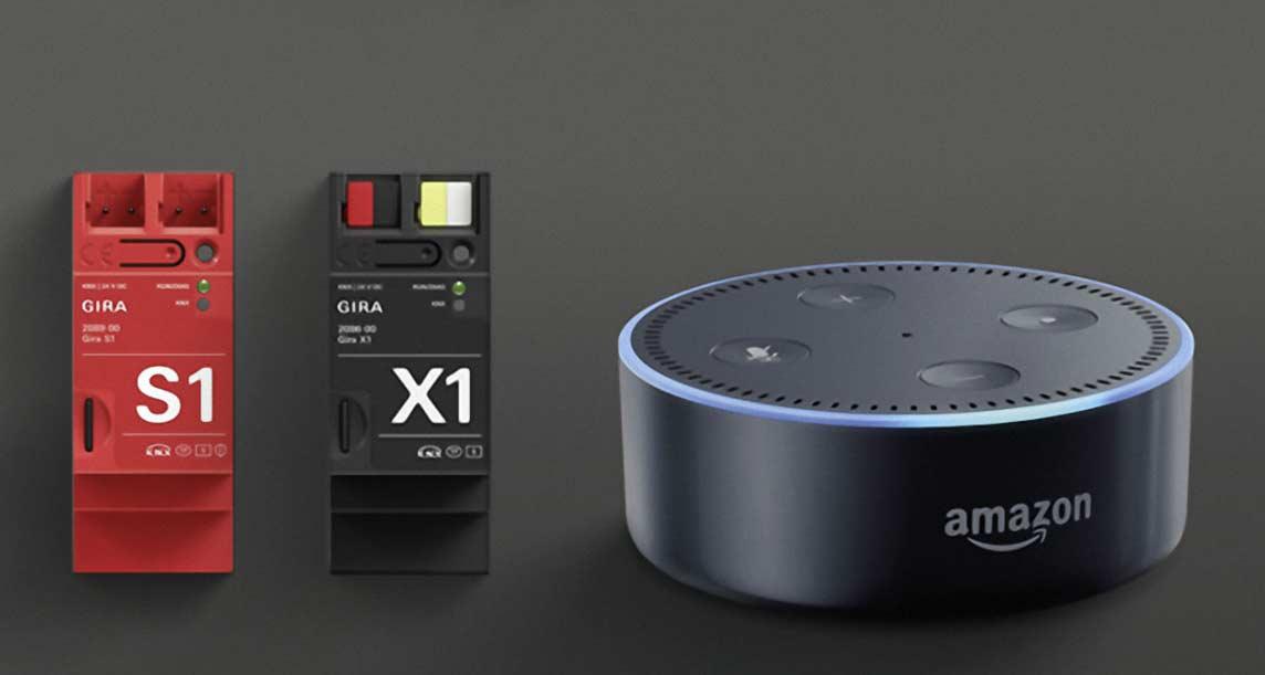 """Alexa, verbinde Dich mit Giras Smart Home-System"""""""