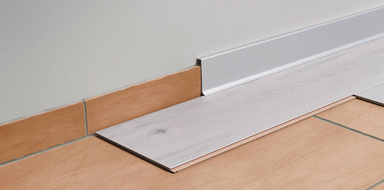 """sanremo-sockelleiste """"construct reno"""" aus eloxiertem aluminium"""