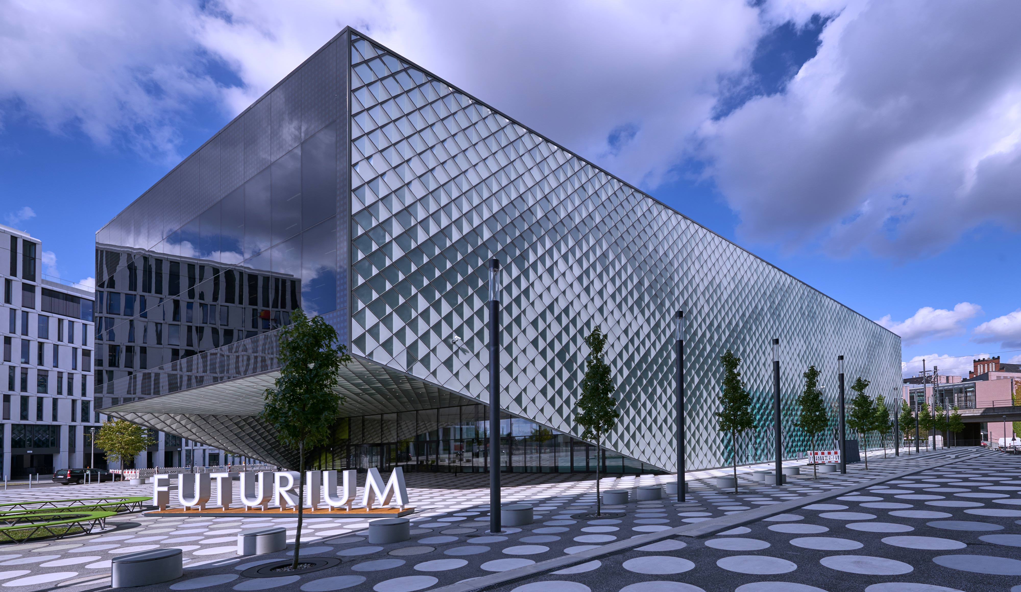 Berlins Futurium In Bedruckter Gussglash 252 Lle
