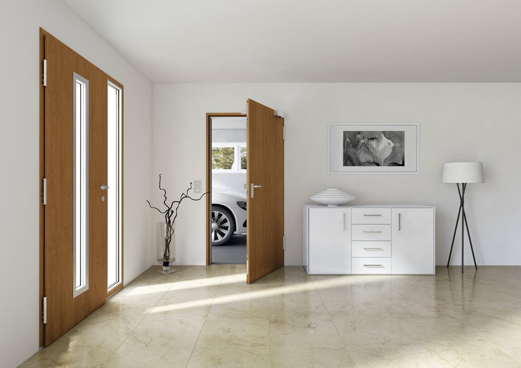 Alles andere als optional: Feuerhemmende Neben- und Kellertüren in Wohnhäusern mit Mehrfachnutzen