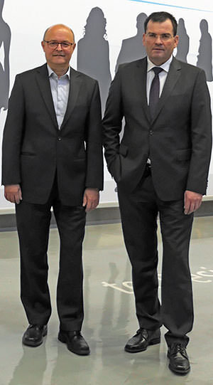 Heinz-Joachim Schönberger-Messer und Franz David