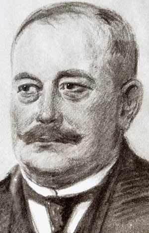 Zeichnung von Franz Carl Nüdling