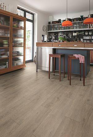 Tritty 200 Aqua: Laminatboden geeignet für Bad und Küche neu von Haro