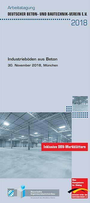"""Arbeitstagung """"Industrieböden aus Beton"""""""