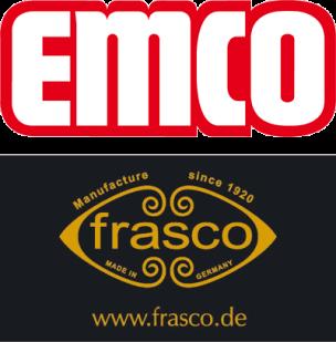 Logos von Emco Bad und Fraas Spiegel