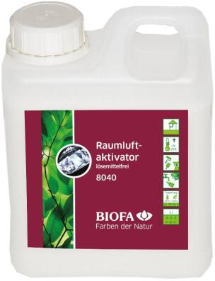 lösemittelfreier Raumluftaktivator 8040 von Biofa