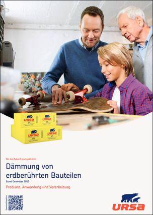 """URSA-Broschüre """"Dämmung von erdberührten Bauteilen"""""""