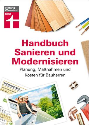Handbuch Sanieren und Modernisieren von Stiftung Warentest