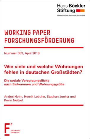 Holm, Henrik Lebuhn u.a.: Wie viele und welche Wohnungen fehlen in deutschen Großstädten? Working Paper Forschungsförderung der Hans-Böckler-Stiftung, Nr. 63, April 2018.