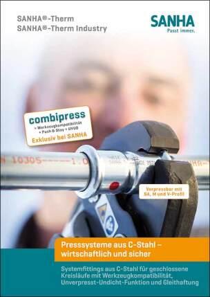 Broschüre *SANHA-Therm - Presssystem aus C-Stahl*