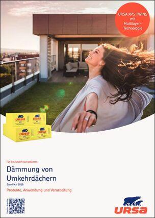 """Broschüre """"Dämmung von Umkehrdächern"""" von URSA"""