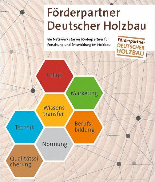 Förderpartner Deutscher Holzbau-Schema
