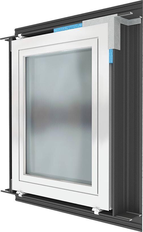 Vorwandmontagesystem SoudaFrame SWI (Soudal Window Installation)