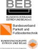 Bodenhandwerks-Verbände BEB, BVPF sowie  Estrich und Belag im ZDB mit gemeinsamer Geschäftsführung