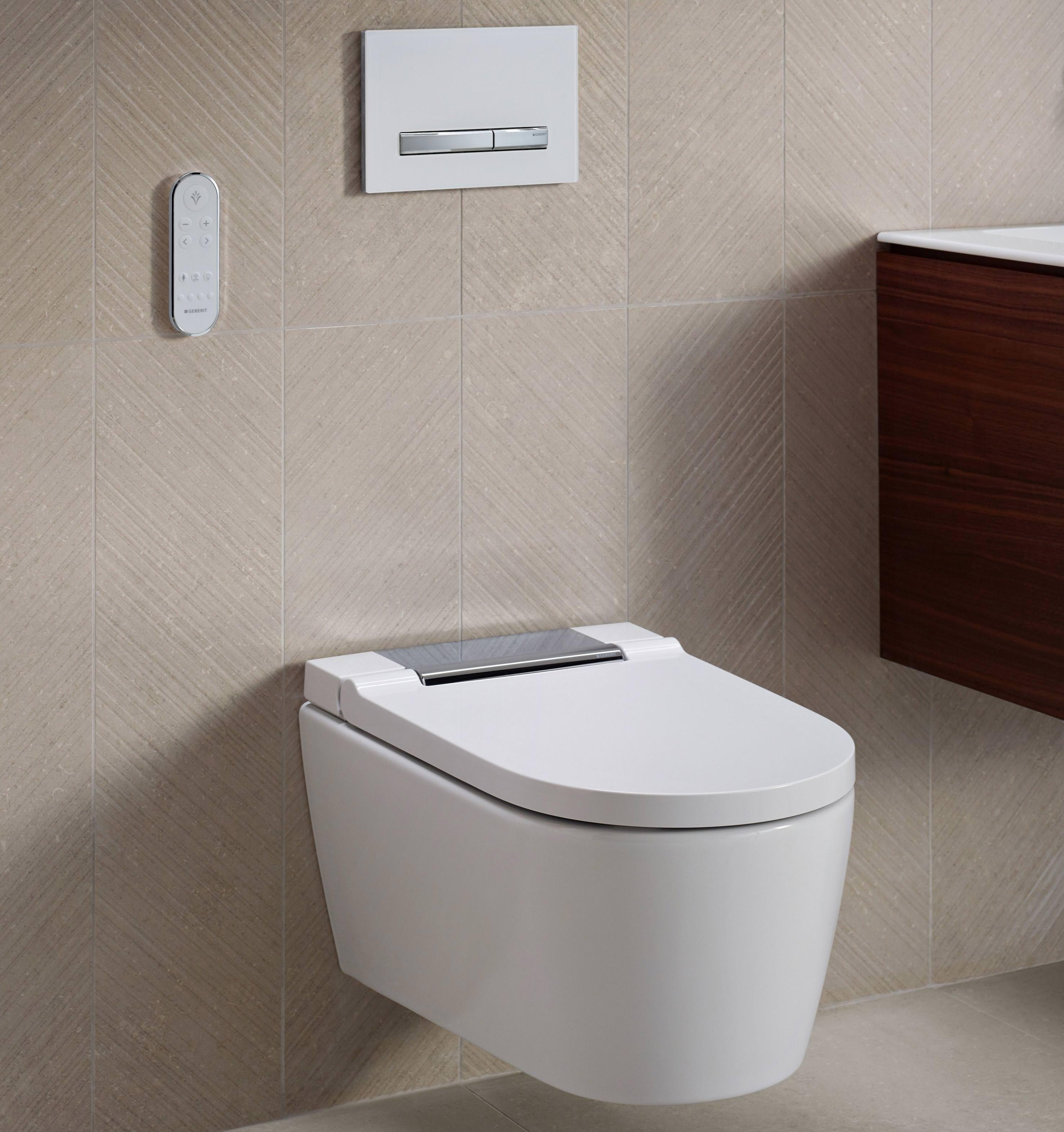 Bekannt AquaClean Sela: Schnörkel- und spülrandloses Dusch-WC mit Lady NK06