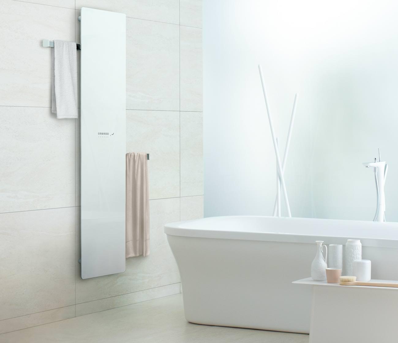 Zehnders neuer Infrarot Badheizkörper Deseo Verso mit einziehbaren ...