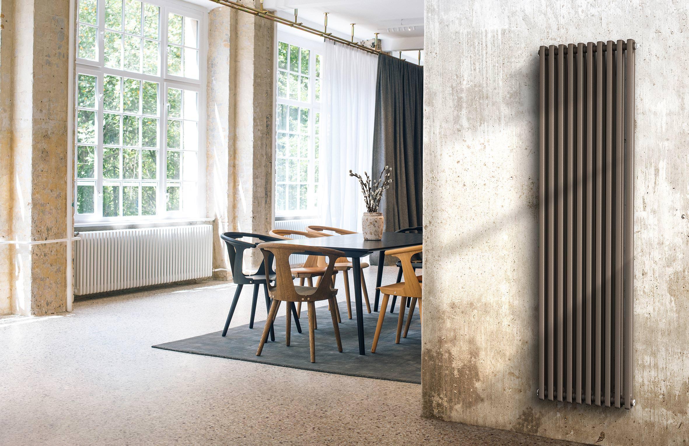 Relativ Industrieflair mit Röhrenradiatoren von Purmo in Rost, Kupfer und OC15