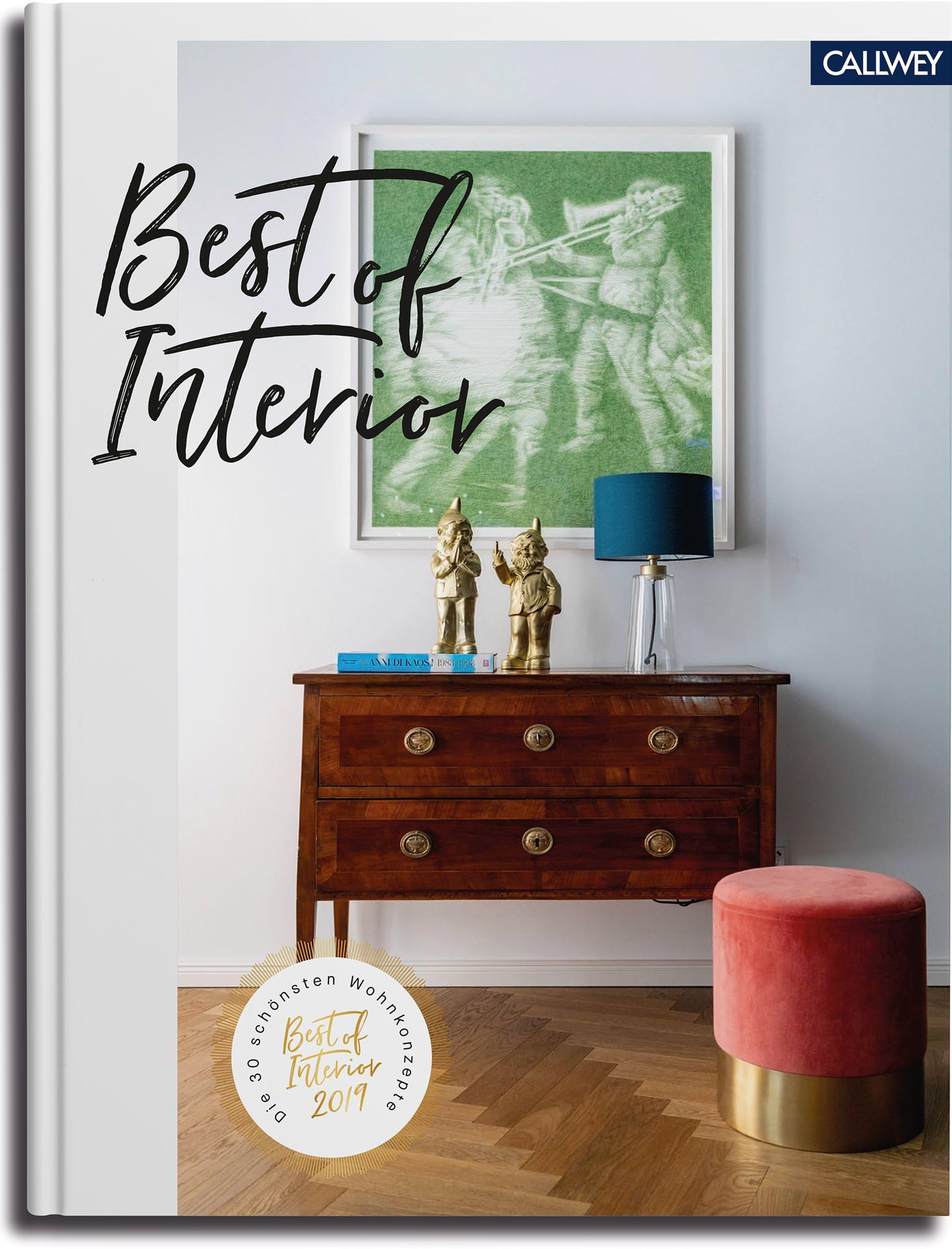 """Buch zum Wettbewerb """"Best of Interior"""" liefert Einrichtungsideen"""