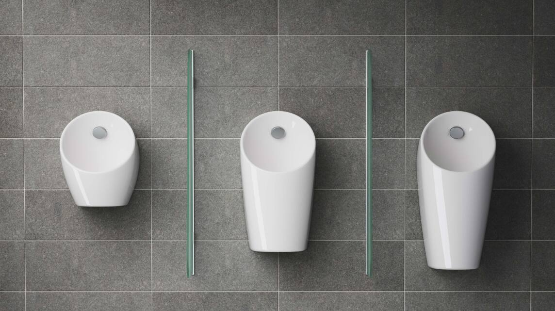 Sphero-Urinale: Mini, Midi und Maxi