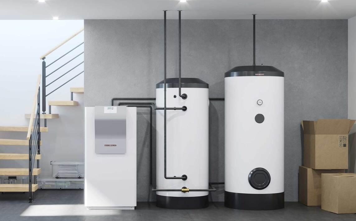Grundwasser-Wärmepumpe WPW-I H Premium von Stiebel Eltron