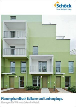 Planungshandbuch Balkone und Laubengänge