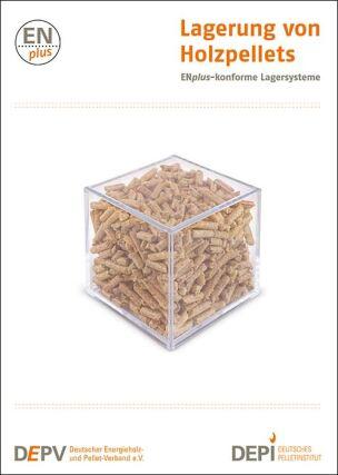 """Broschüre """"Lagerung von Holzpellets"""""""