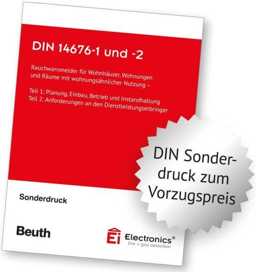 DIN 14676-1 sowie DIN 14676-2