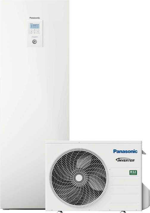 Aquarea Luft/Wasser-Wärmepumpen von Panasonics