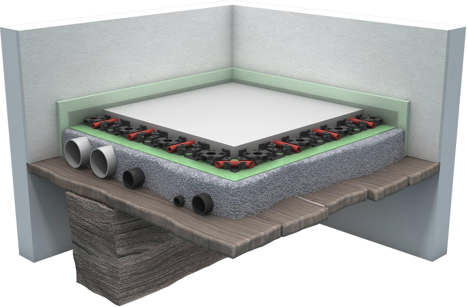 Zementgebundener Leichtausgleichmortel Fur Den Schnellen Bodenausgleich Neu Von Knauf