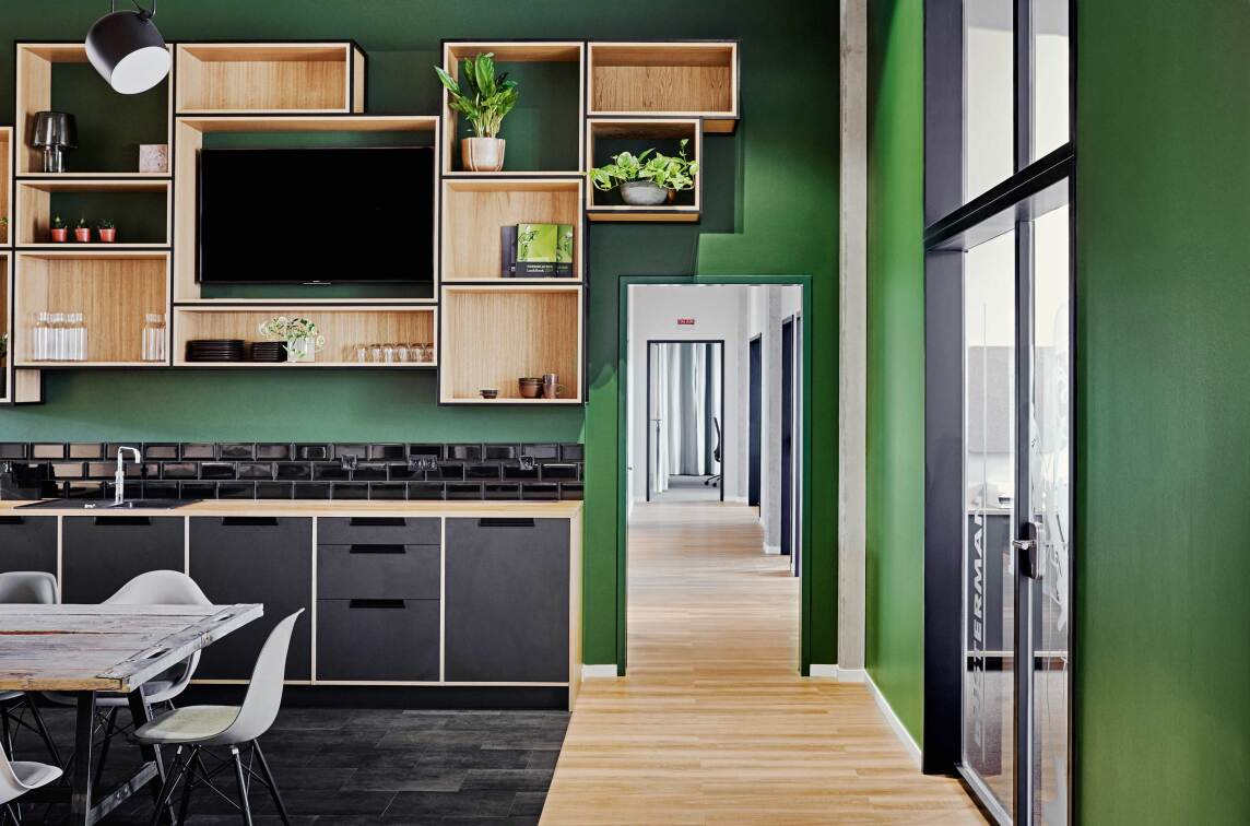 "3/27: Vrai interior architecture, Jana Vonofakos: ""Loftbüros | Kappa_Ingredients"", Foto © Nina Struve"