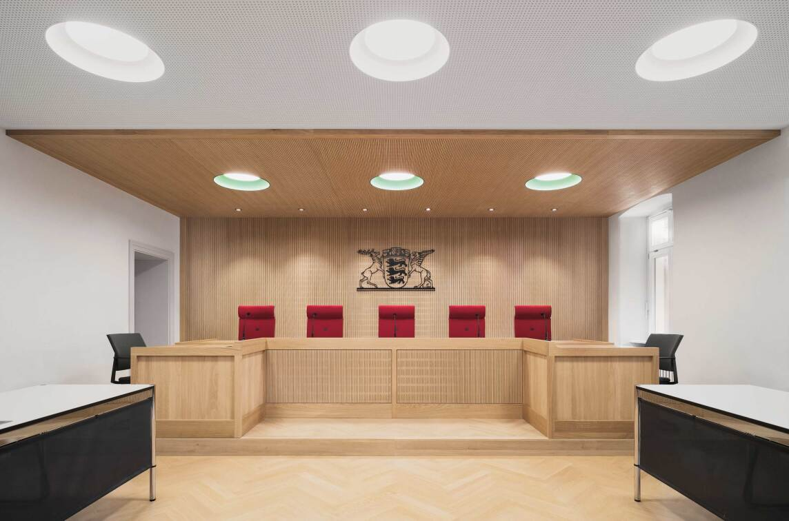 """16/27: Ecker Architekten, Robert Piotrowski: """"Amts-und Landgericht"""", Foto © Brigida Gonzáles"""