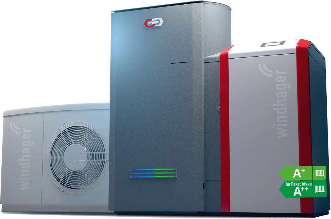 Pellet-/Wärmepumpen-Hybridsystem - BioWIN2 Touch Hybrid