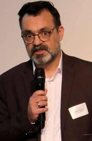 Tobias Nazemi, Geschäftsführer der Bau-PR-Agentur Brandrevier