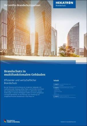"""Whitepaper von Hekatron """"Brandschutz in multifunktionalen Gebäuden"""""""