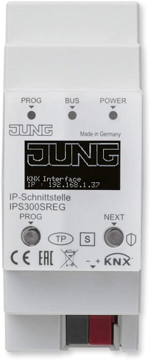 KNX IP-Schnittstelle IPS300SREG