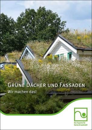 """BGL-Fachbroschüre """"Grüne Dächer und Fassaden: Wir machen das!"""""""