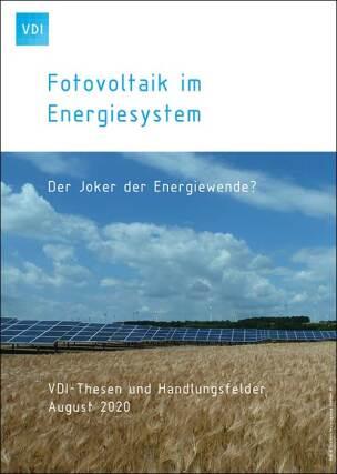 "DI-Publikation ""Photovoltaik im Energiesystem – Der Joker der Energiewende?"""