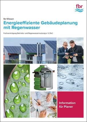 """Broschüre """"Energieeffiziente Gebäudeplanung mit Regenwasser"""""""