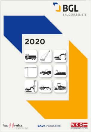 Baugeräteliste BGL 2020