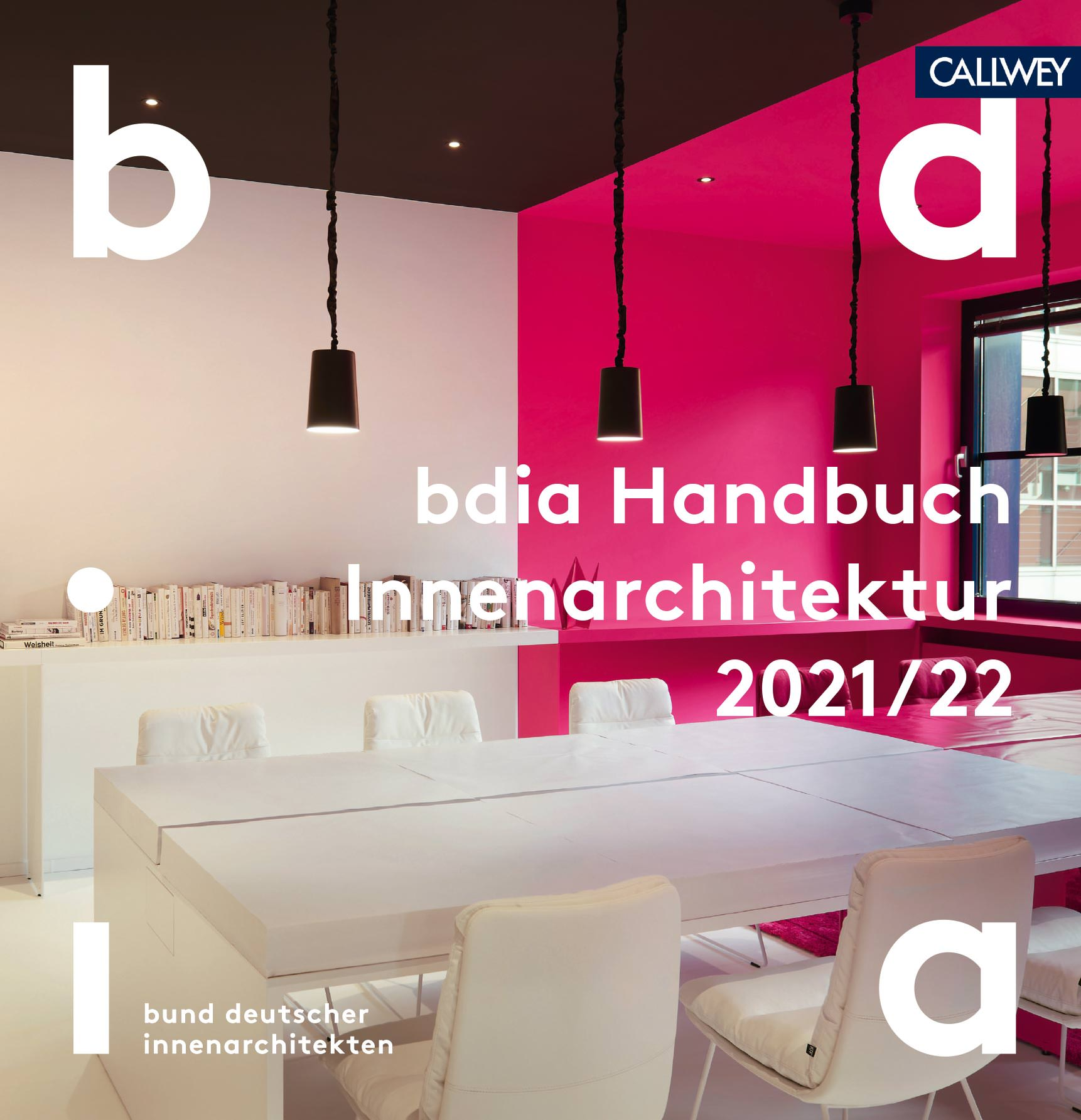 "bdia Handbuch 21/21 ""Frau Innenarchitekt"""