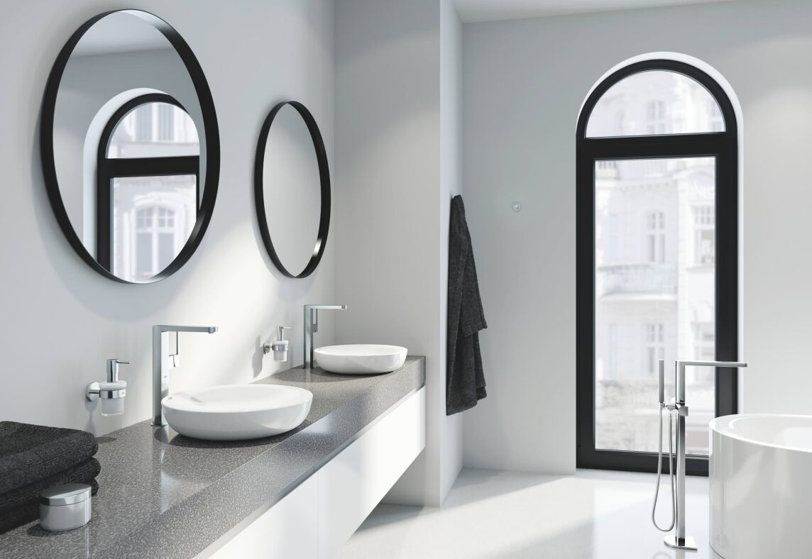 #2 Perfect Match: Grohe Plus - Slick Minimalist Styling