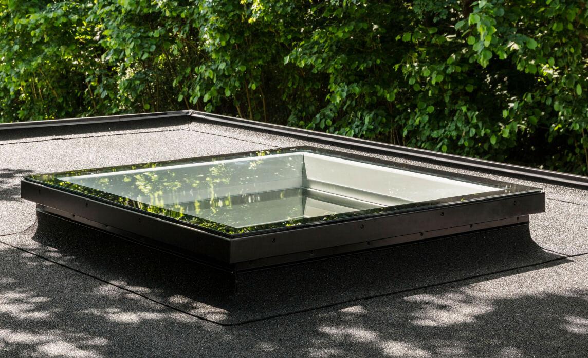Flach-Glas-Flachdachfenster