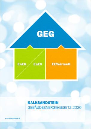 """Fachbroschüre """"Kalksandstein Gebäudeenergiegesetz 2020"""""""