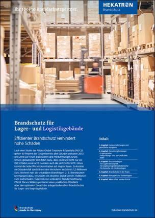 """Whitepaper """"Brandschutz für Lager- und Logistikgebäude"""""""