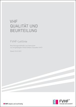 """FVHF-Leitlinie """"VHF Qualität und Beurteilung"""""""