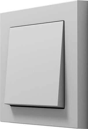 grauer Lichtschalter