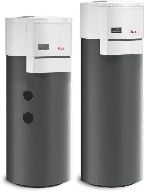 Warmwasser-Wärmepumpe AuraUnit von Roth