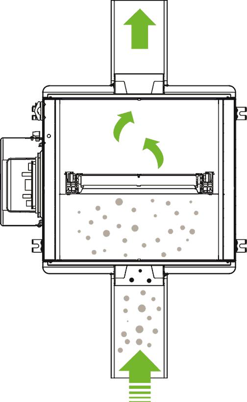 x-well hygienic Luftfilter